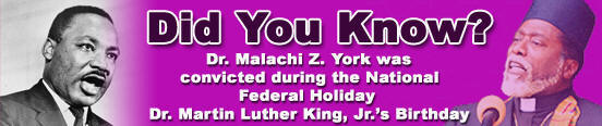 Martin Luther King & Dr. Malachi Z. York